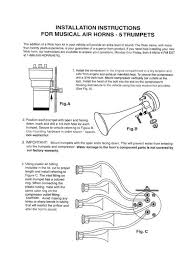 car horn wiring diagram solidfonts wiring diagram for car air horns maker