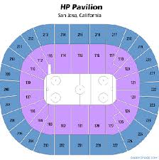 San Jose Hp Pavilion Seating Chart Motels In Anderson
