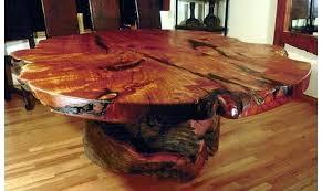 coffee table tree tree trunk coffee table base 2 ping around tree trunk coffee table base