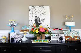 engagement party ideas at home. shutterfly engagement full table set up party ideas at home