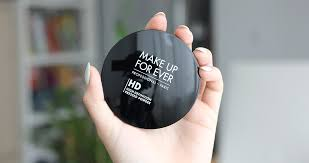 make up for ever hd pressed powder review