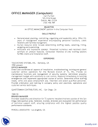 Sample Resume Report Writing Skills Assignment Docsity