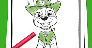 Follow the rescue dog team and ryder on their adventures in this adorable nick jr. Paw Patrol Tracker Coloring Pack Nickelodeon Parents