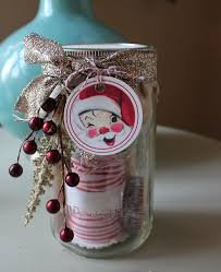 Decorative Jars Ideas Secret Santa Christmas Mason Jars Decorative Tape And Secret Santa 99