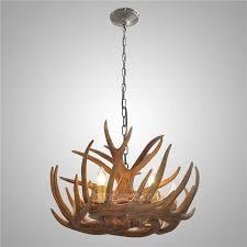 antler featured chandelier with 6 lights antler light fixtures