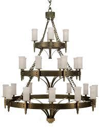 craftsman 3 tier chandelier