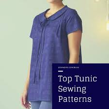 Tunic Top Patterns Interesting Top Tunic Sewing Patterns Sew News