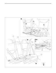 Rear seat belt 4 door models