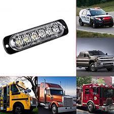 Led Warning Lights For Trucks Car Led Strobe Lights
