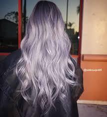 Light Purple And Silver Hair Pin By Britani On Next Hair Lilac Hair Hair Hair Styles