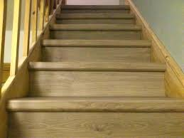 vinyl plank flooring on stairs stair nosing allure st treads design for