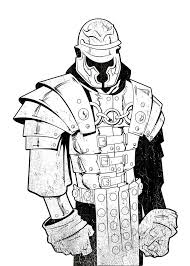 Coloring Page Roman Soldier Img 19795 Clip Art Library