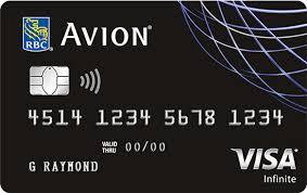 Rbc Avion Points Redemption Chart Earn Travel Rewards With The Rbc Avion Visa Infinite Credit Card