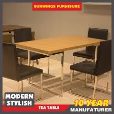upscale dining room furniture. Makan Kelas Atas Room Dining Meja Dan Kursi Dengan Kaki Anti Karat - Buy Product On Alibaba.com Upscale Furniture