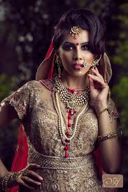 indian bridal wedding hair and makeup artist