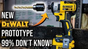 Power Tool Manufacturers Chart Dewalt Tools New Impact Driver Prototype That 99 Of People Dont Know About