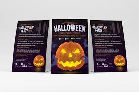 Halloween Dance Flyer Templates Free Halloween Flyer Template Psd Ai Vector Brandpacks