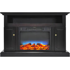 cherry electric fireplaces fireplaces the home depot rh homedepot com