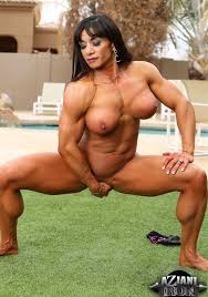 Sexy female bodybuilders squirting