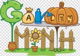 gardening garden tool cartoon pumpkin