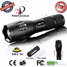 Đèn pin XMLT6- Đèn pin cảnh sát siêu sáng,nhỏ gọn, tiện dụng- Đèn pin cho  dân phượt