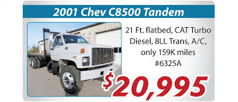 preowned 2001 chevrolet c8500