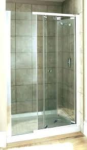 shower kits surrounds walls image of best fiberglass stalls kohler luxstone door parts wall kit