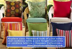 Outdoor Furniture Upholstery in Pasadena California Pasadena