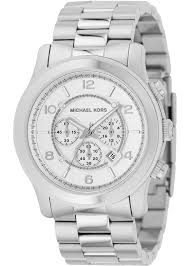 michael kors men s mk8086 runway stainless steel silver michael kors men s mk8086 runway stainless steel silver chronograph watch