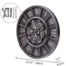 extra large roman numerals moving gear