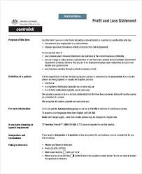 Simple Profit And Loss Statements 27 Profit And Loss Statement Examples Samples Pdf Word Pages