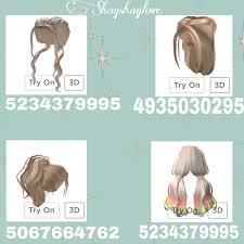 Rbx codes provides the latest and updated roblox hair codes to customize your avatar with the beautiful hair for beautiful people and millions of step1: Hair Code Roblox Enchantress Tress Hair Code Sky Toy Box We Ve Got A Full List Of All The Hair You Can Get For Free In Roblox Darkkprincessgothic