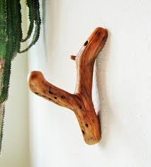Pinyon Pine Tree Branch Wall Hook for coat hook, hat rack, towel hook,  outdoorsman gift, log cabin decor, natural modern decor, unique hook