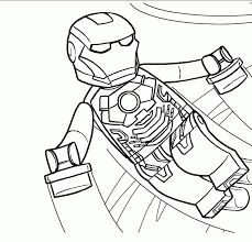 Lego Iron Man Coloring Pages Az Coloring Pages Throughout Color