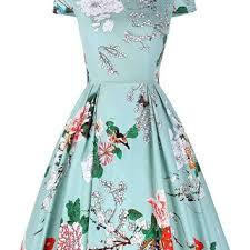 A Line Dress Pattern Mesmerizing Best Vintage Dress Patterns 48s Products On Wanelo