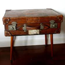 Retro, vintage suitcase coffee table