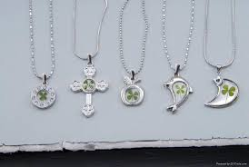 real four leaf clover jewelry 1