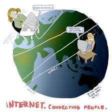 internet connecting people by skuuri on  internet connecting people by skuuri