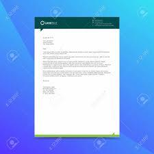 Professional Company Letterhead Professional Letterhead Design Template