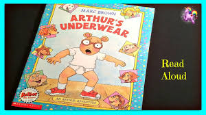arthur s underwear arthur read aloud storybook for kids children s