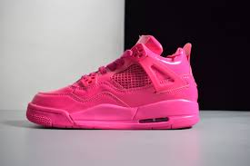 2019 air jordan 4 gs 11lab4 pink patent leather for