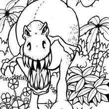 Small Picture DINOSAUR coloring pages 87 free Prehitoric Animals coloring