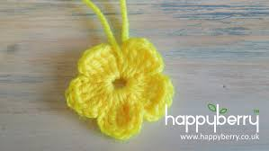 Small Crochet Flower Pattern New Design