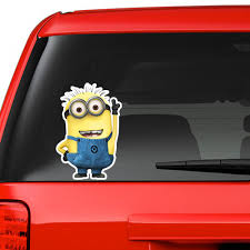 Minion Bedroom Despicable Me Minion Kids Bedroom Decal Wall Window Car Sticker Large