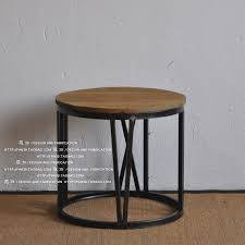 american iron old wood coffee table round coffee table in roman numerals creative kung fu tea table
