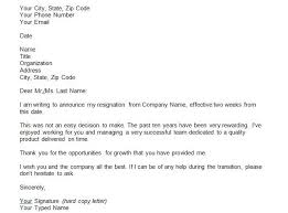 Sample Resignation Letter Template Doc Copy Samples Of Resignation ...