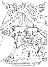 The Wise Men Bible Coloring Pages Craft Color Sunday School