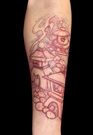 Paolo Lanterne Free Hand Tattoo Neanderthal Tattoo Shop