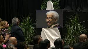 Funeral held for local hero, NASA mathematician Katherine Johnson