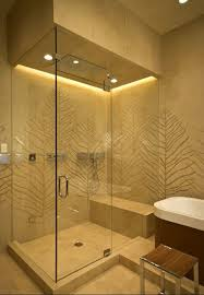 lighting shower. beautiful shower uses waterproof warm white led strips as a modern mood lighting solution find l